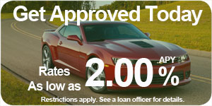 Car Loans - Get approved today. Rates as low as 2.00% APY. Restrictions apply